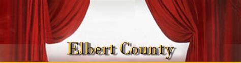 Elbert County Records Elbert County Genweb
