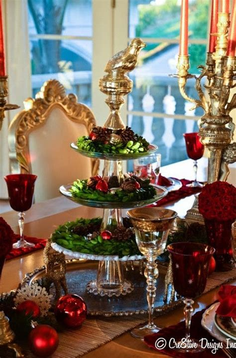 tablescape ideas christmas tablescape ideas 40 pics holidays parties