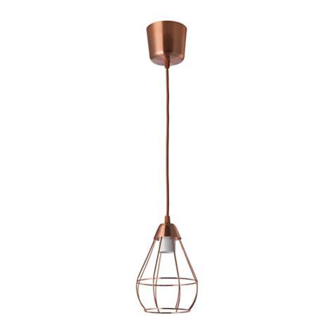 Pendant Light Fittings Ikea Sl 196 Ttbo Pendant L Copper Colour 14 5 Cm Ikea