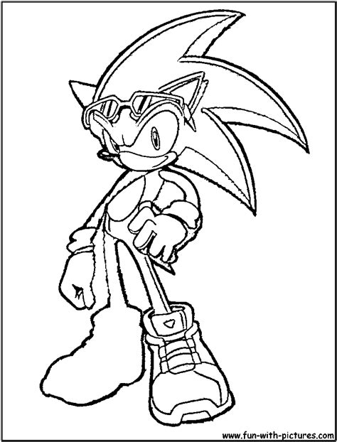 coloring pages sonic the hedgehog sonic the hedgehog coloring page