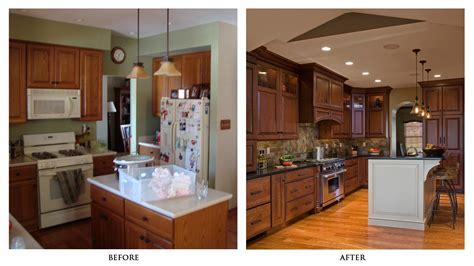 Island Home Renovation And Design Kitchen Remodels Before And After Photos Kitchen