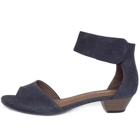 navy sandals gabor elvira s modern trendy ankle sandals