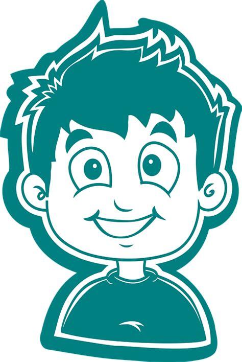 boy cartoon child comic  vector graphic  pixabay