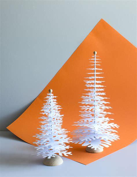 light blue metallic paper christmas tree  decoration