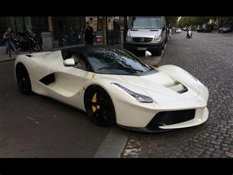 Wheels Custom Laferrari White white laferrari qatar car