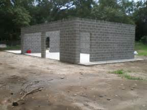 Concrete Block Garage Designs Charleston Modern Progress Concrete Cinderblock Up