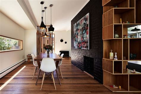 focal points to accentuate a room on point custom homes 50 bold and inventive dining rooms with brick walls