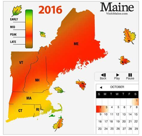 fall foliage in new england 2017 2016 new england fall foliage forecast new england today
