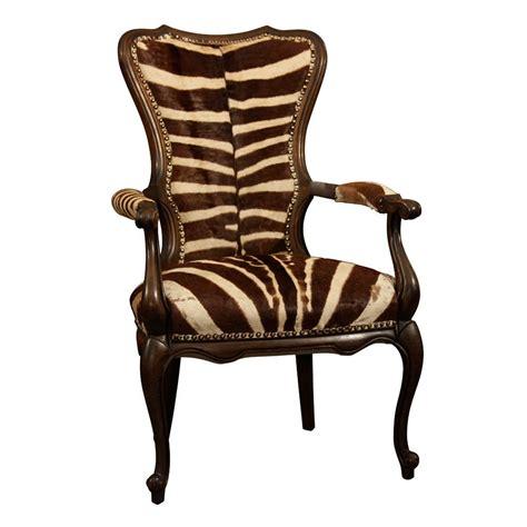 vintage zebra armchair at 1stdibs