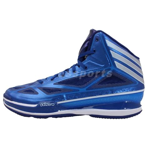 adizero shoes basketball adidas adizero light 3 blue silver mens basketball
