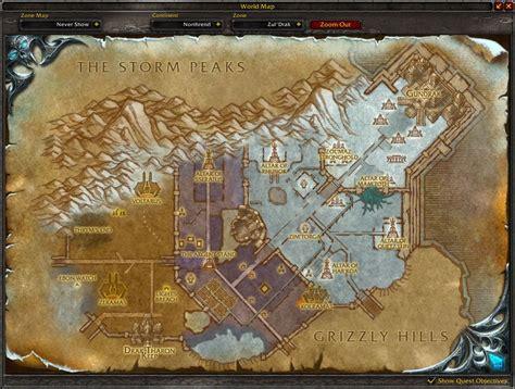 archavons kammer eingang zul drak map wow screenshot gamingcfg