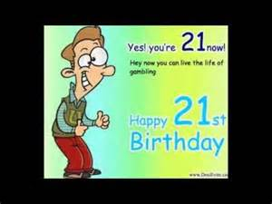 happy birthday ecards for 21st birthday