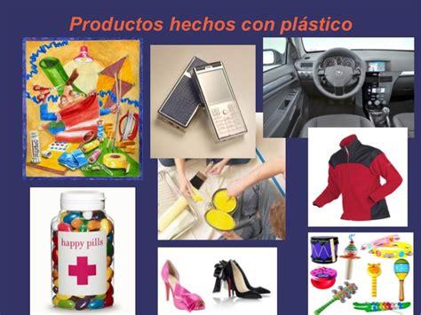 productos elaborados de reciclaje presentaci 243 n de reciclaje del pl 225 stico