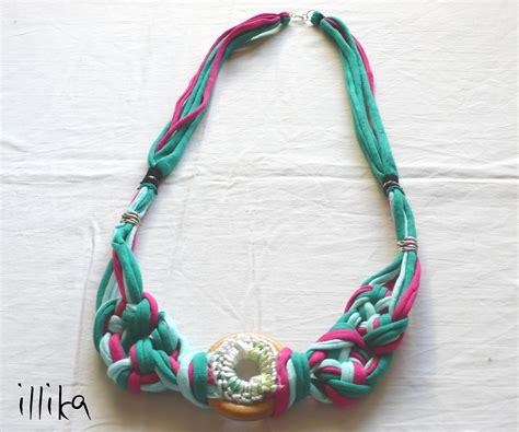 nudos de collares collares de nudos en trapillo illika
