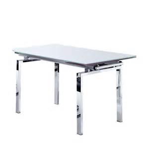 tisch mit glasplatte ausziehbarer esstisch fintraga mit glasplatte wohnen de