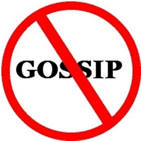 how to stop others gossiping about gossiping