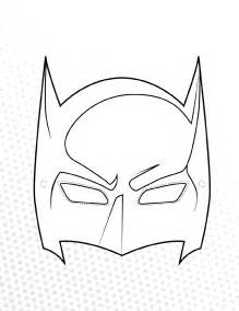 Mask Template Pdf by The Batman Mask Template Can Help You Make A