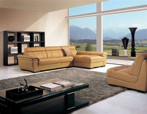high end sectional high end curved sectional sofa in leather contemporary
