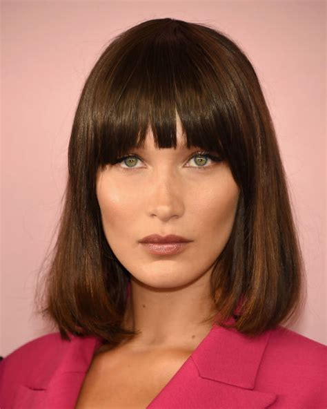 Fringe Bangs Hairstyles by Best Fringe Hairstyles For 2018 How To Pull A Fringe