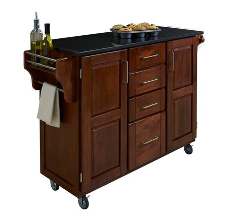 black kitchen island with stools home styles kitchen island with two stools black the home depot canada