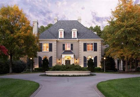 French House Styles Design Exteriors Pinterest French Country Homes Style And