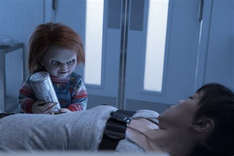 movie chucky cast a really strange new cult of chucky image was just