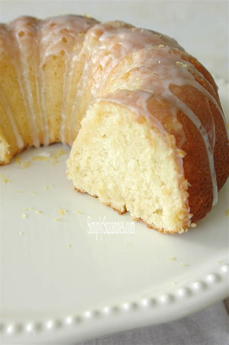 simply suzanne s at home the best lemon bundt cake