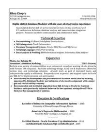 sample resume for sql server 3 - Sql Server Dba Sample Resumes