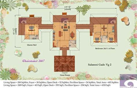 tropical house plans sulawesi gado house plans balemaker