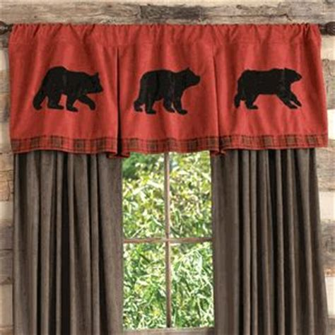 rustic curtains cabin window treatments 1000 images about bear decor on pinterest cabin the