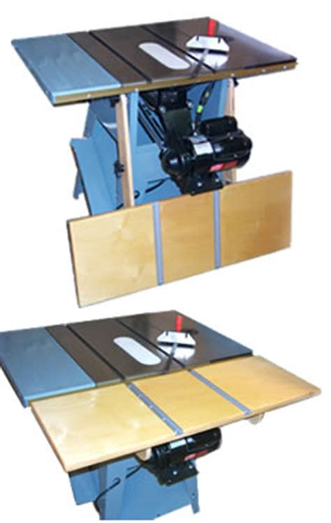 Description Woodworking Table Saw Extension Table