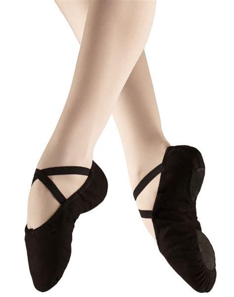 black ballet shoes for bloch split sole canvas black ballet shoe move dancewear 174