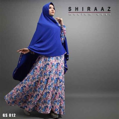 Syari Shiraz by Jual Gamis Syar I Murah G012 By Shiraz