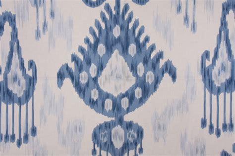 robert allen drapery robert allen khandar ikat type print drapery fabric in indigo