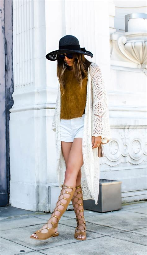 how to wear sandals how to wear high gladiator sandals stylecaster