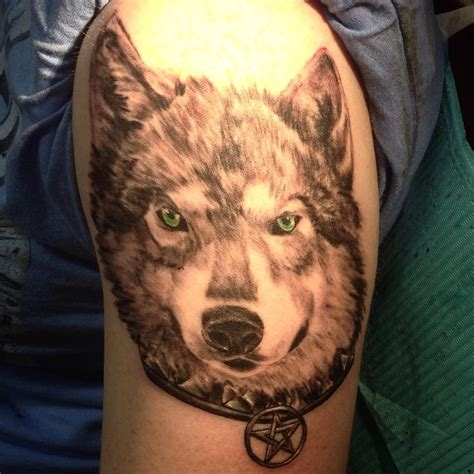 black and grey wolf tattoo black and gray wolf