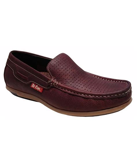 buy leather loafers india cooper brown loafers price in india buy cooper