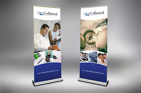 design a banner stand collateral benefits group retractable banner stands