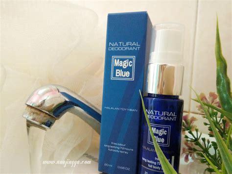 Deodorant Terbaik Cegah Bau Badan bau badan bukan lagi masalah dengan magic blue deodorant anajingga