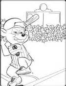chicago cubs coloring pages clark s crew and chicago cubs