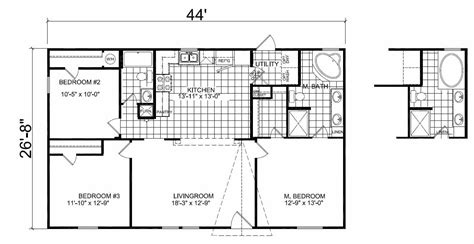 chion mobile home floor plans double wide mobile home floor plans 2 bedroom 1 bath