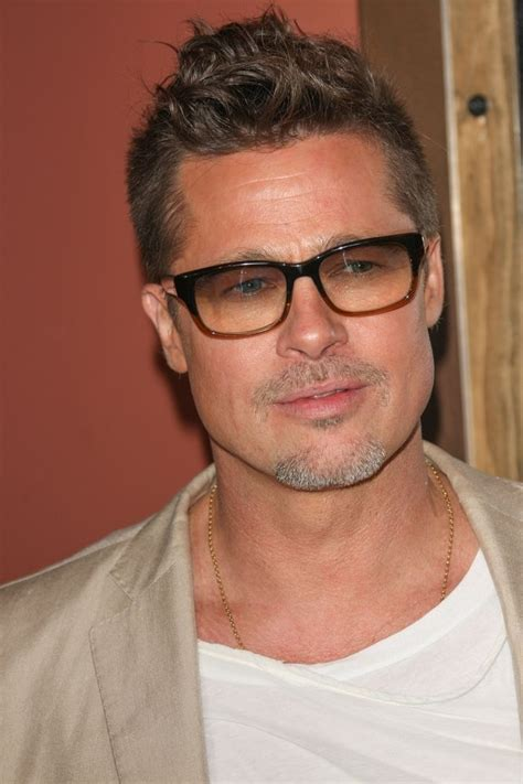 old male actor with glasses 25 best ideas about brad pitt 2014 on pinterest brad
