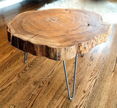 rustic vintage tree slab coffee table for sale at stdibs