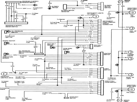 1984 chevy truck alternator wiring diagram wiring forums