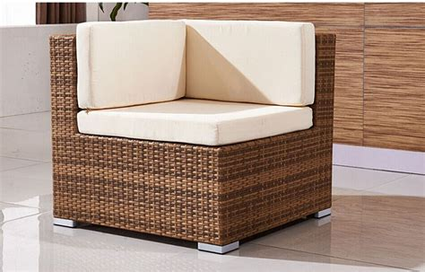 l shaped wicker couch stylish l shaped rattan furniture couch for living room