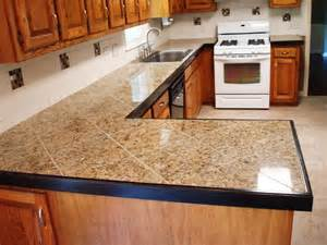 Kitchen Counter Tile Ideas ideas of tiled kitchen countertops http www thefridge