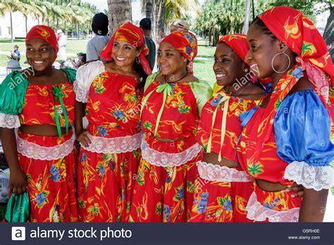 traditional haitian costumes miami florida haitian dancers costume
