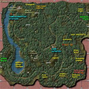 cacorentin forest zones age of camelot zam