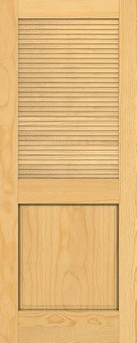 8 Panel Interior Wood Doors by Discount 6 8 Quot Traditional Louver Panel Pine Interior Wood Door Slab