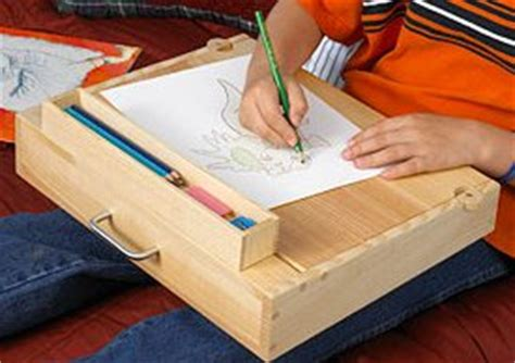 lap desk woodworking plan